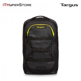 TARGUS 15.6 INCH WORK + PLAY FITNESS BACKPACK (BLACK/YELLOW)