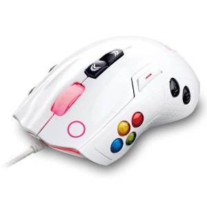 TT Esports Volos Gaming Laser Mouse (8200dpi)-White > MO-VLSWDLOWH
