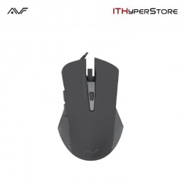 AVF AGM122 Gaming Optical Mouse (3000dpi) USB - Grey