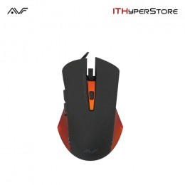 AVF AGM122 Gaming Optical Mouse (3000dpi) USB - Orange