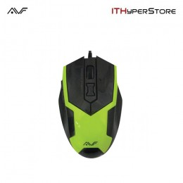 AVF AGM133 Gaming Optical Mouse (3000dpi) USB - Green